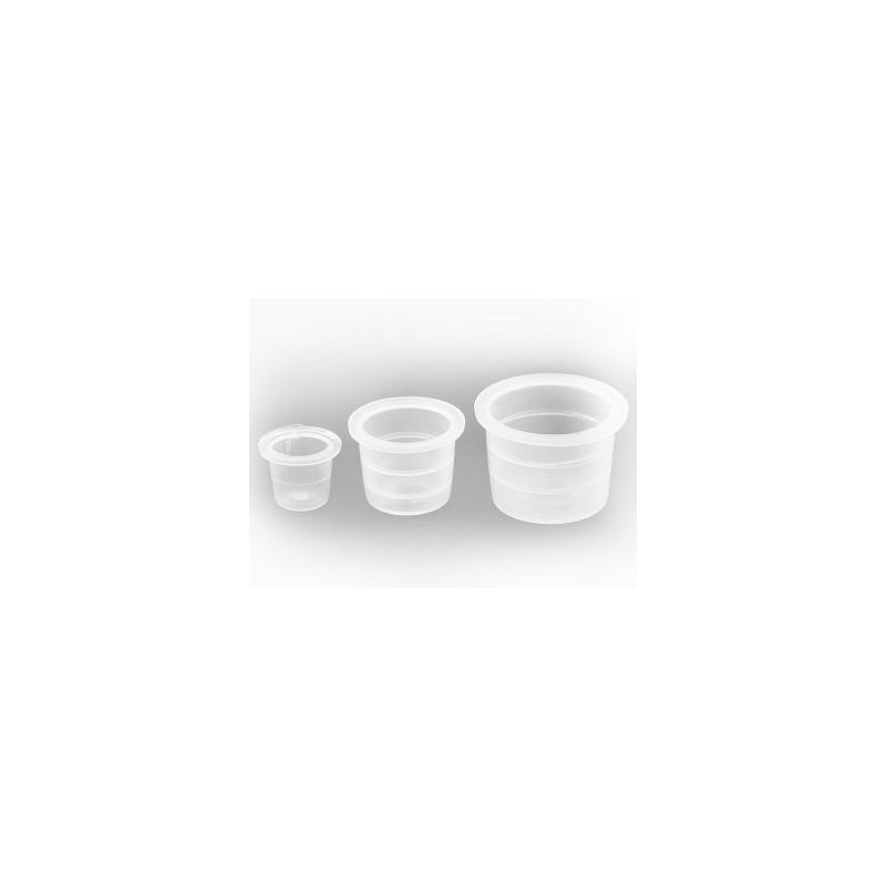 Tattoo ink cups 8 mm. (100 ps.)