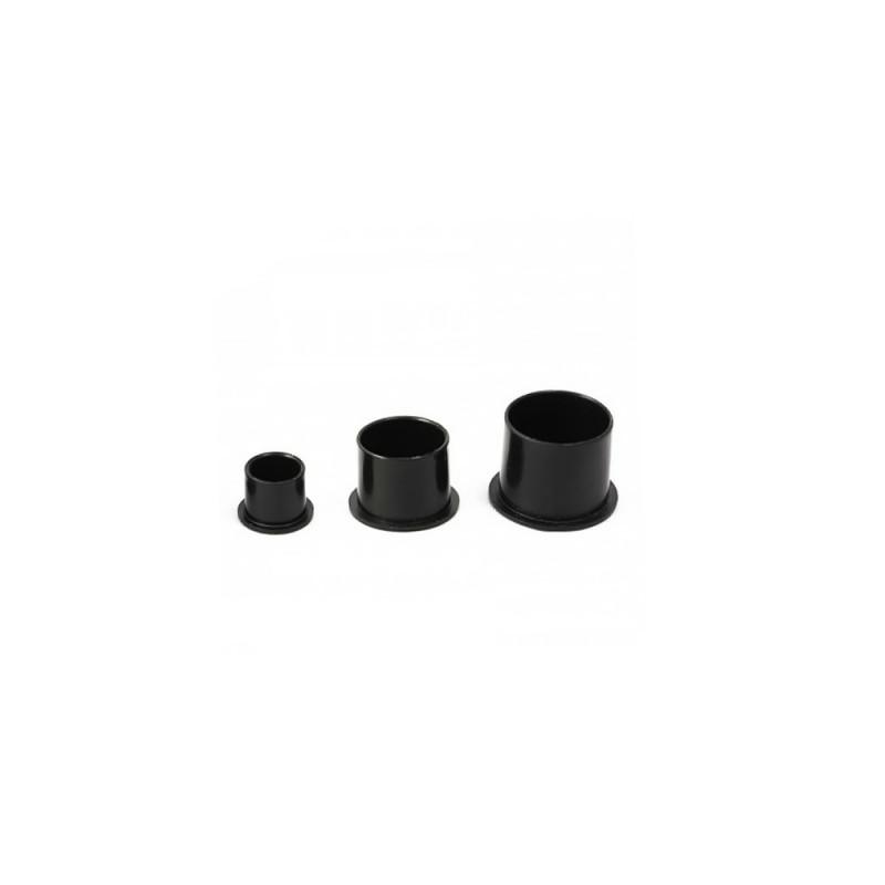 Tattoo ink black cups 8 - 12 - 15 mm (100pc.)