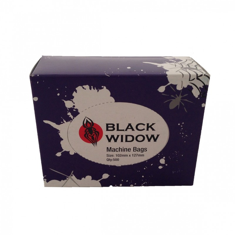 Machine bags Black widow (500pc.)