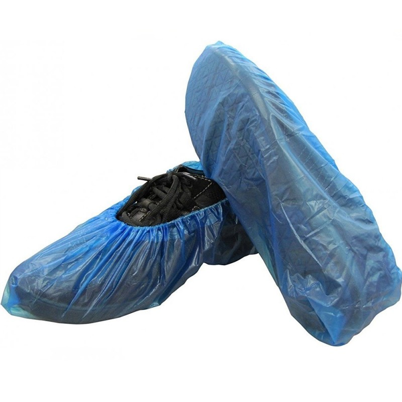 Disposable Shoe Covers CPE 36 microns (5 pairs) universal size