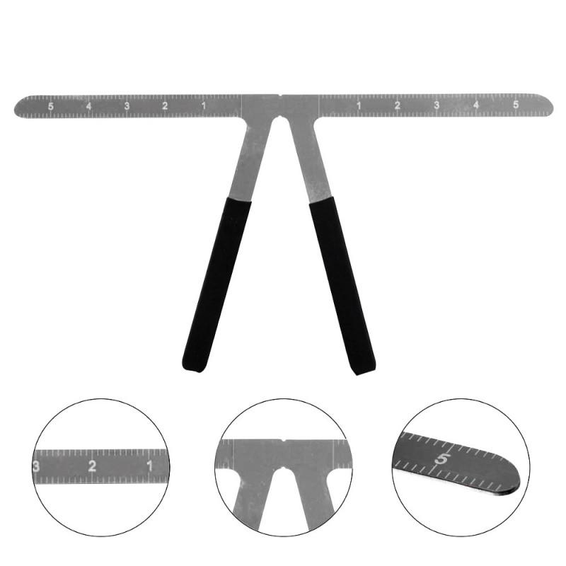 Three-point Positioning Balance Ruler