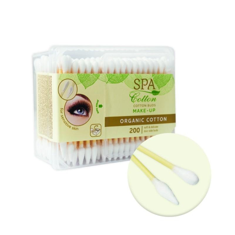 Cotton buds 200 pcs. (Organic Make-up)