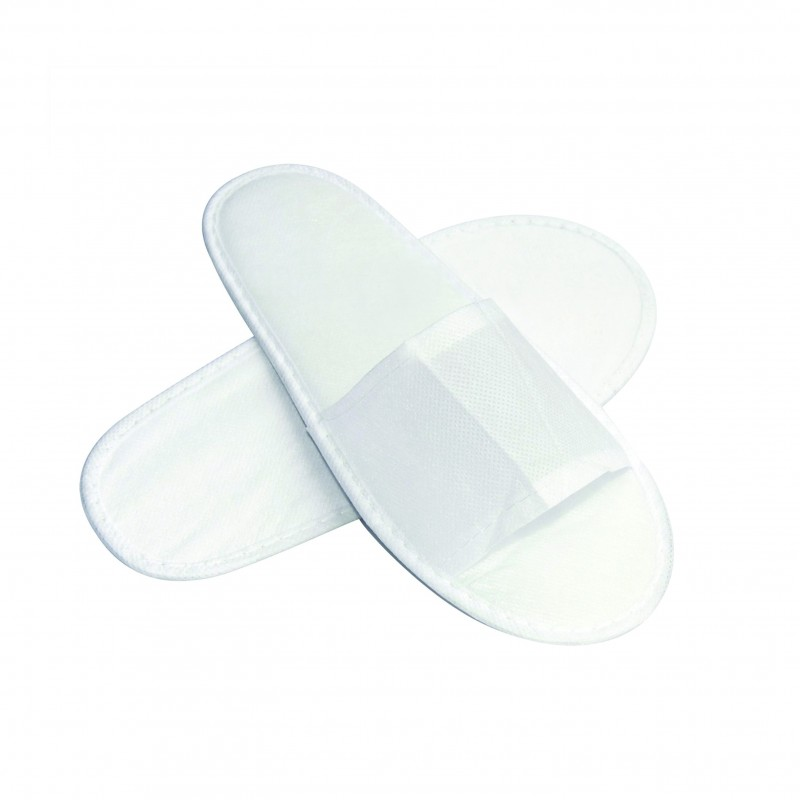 Disposable Non-woven Slippers (open toe / 1 pair)