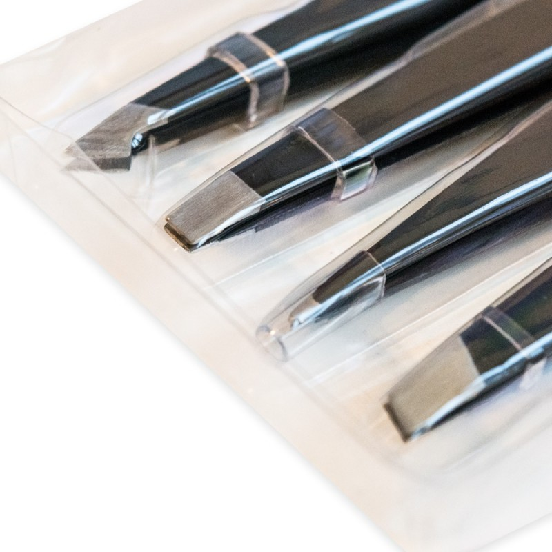 Tweezers kit (4 forms)