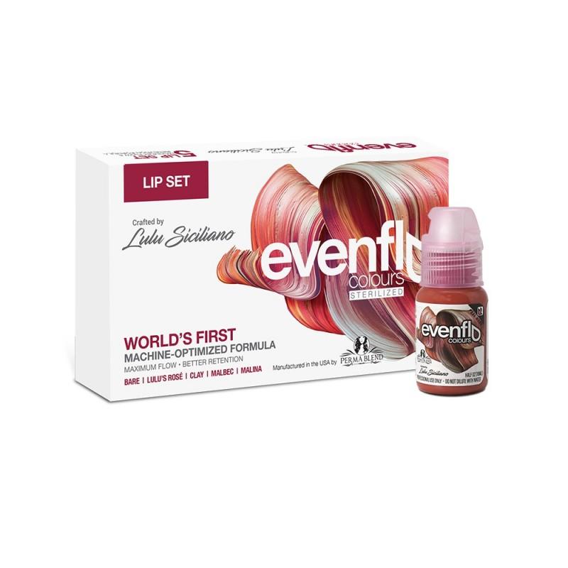 Perma Blend Evenflo lip pigments set (15ml)
