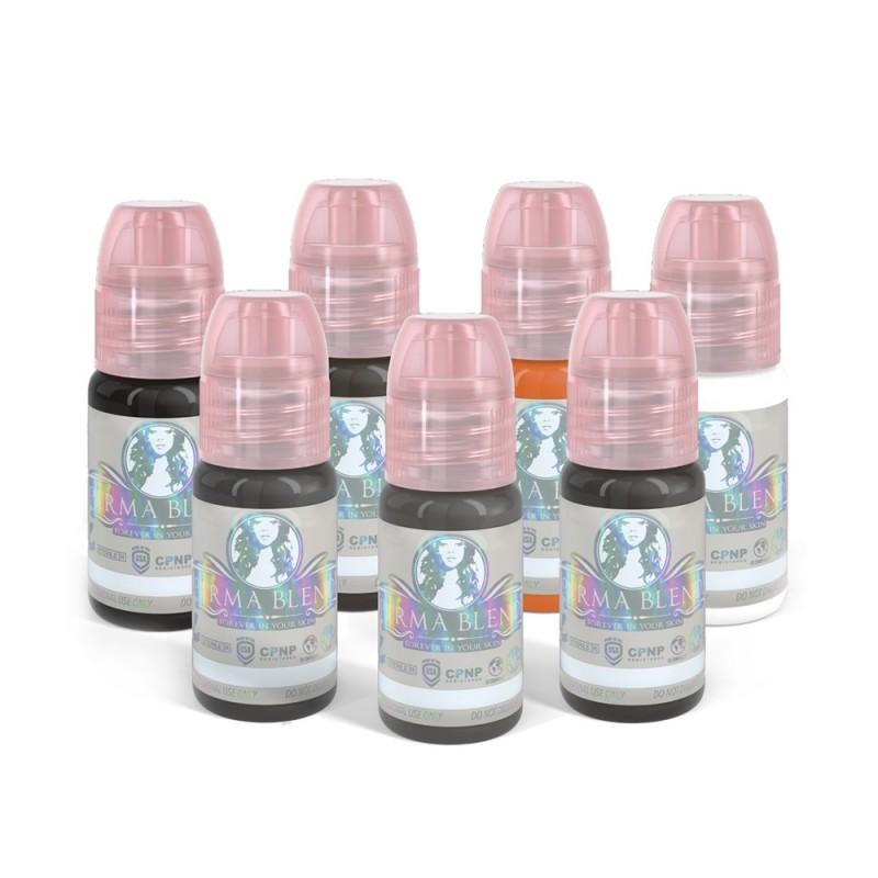 Perma Blend Pigments – Scalp Pigmentation Set 7 x 15pcs.