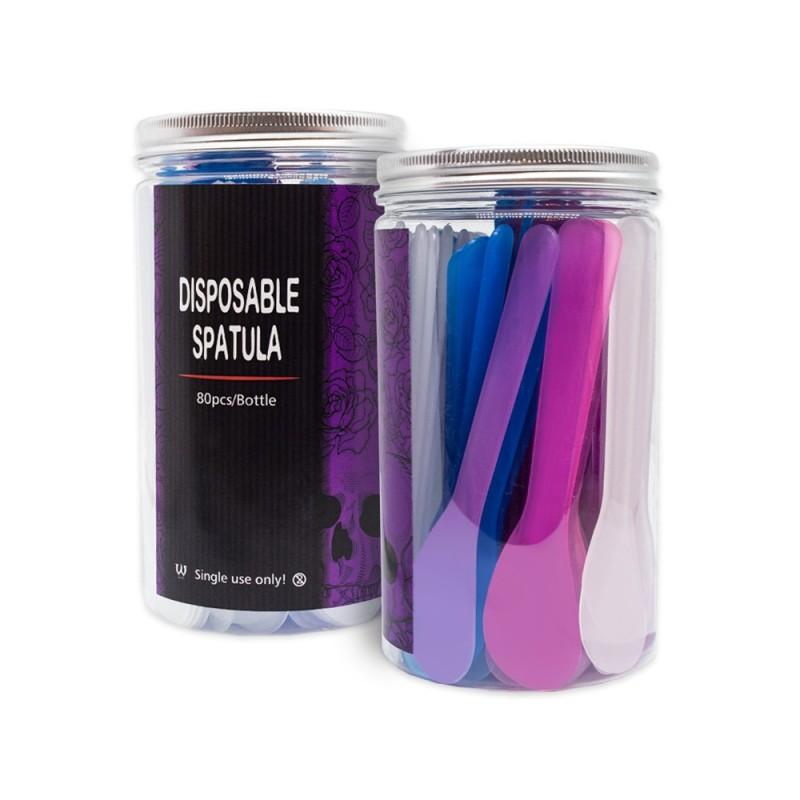 Disposable spatula for mixing (random colors) 10 pcs.