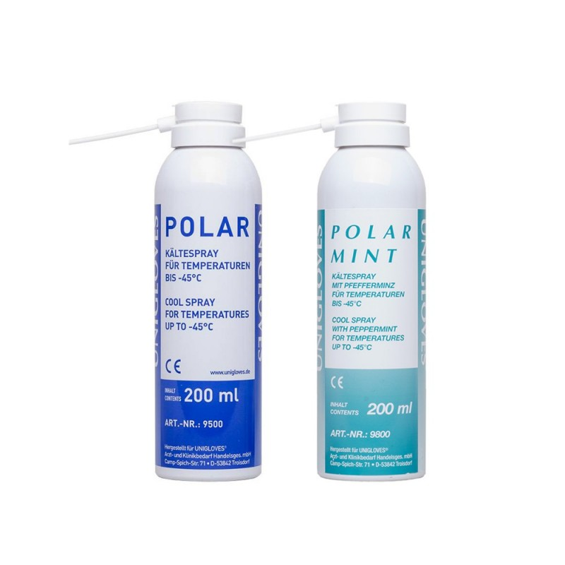 UNIGLOVES Polar Cooling Spray 200ml (up to –45°C)