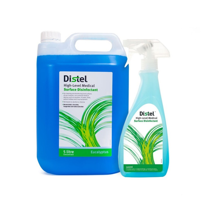 Distel High level surface disinfectant 500ml. / 5l.