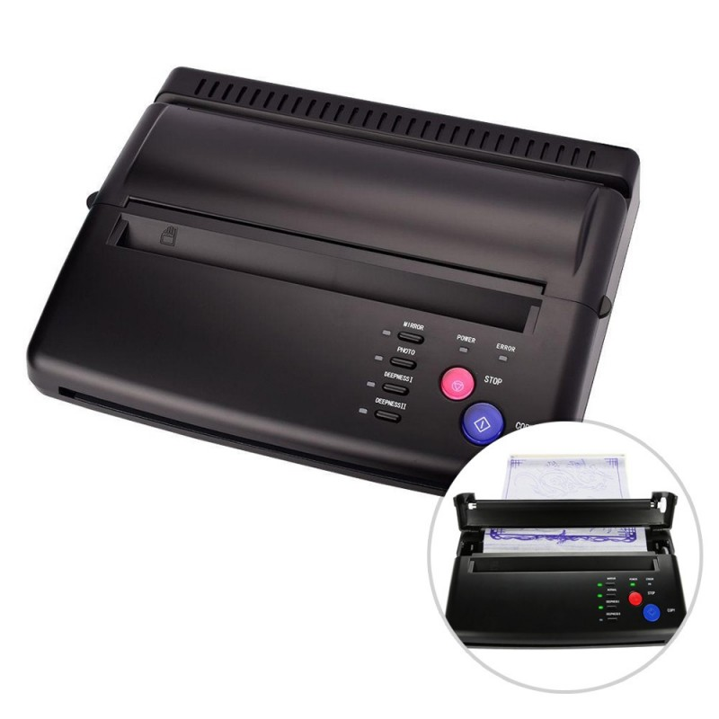 Tattoo stencil transfer machine - copier