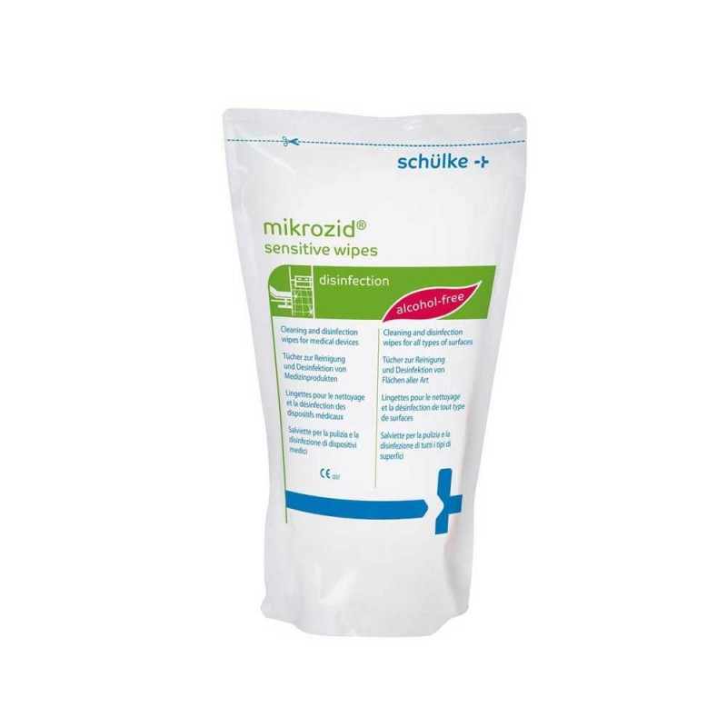Mikrozid AF Jumbo sensitive wipes (refill 200 sheet/box)