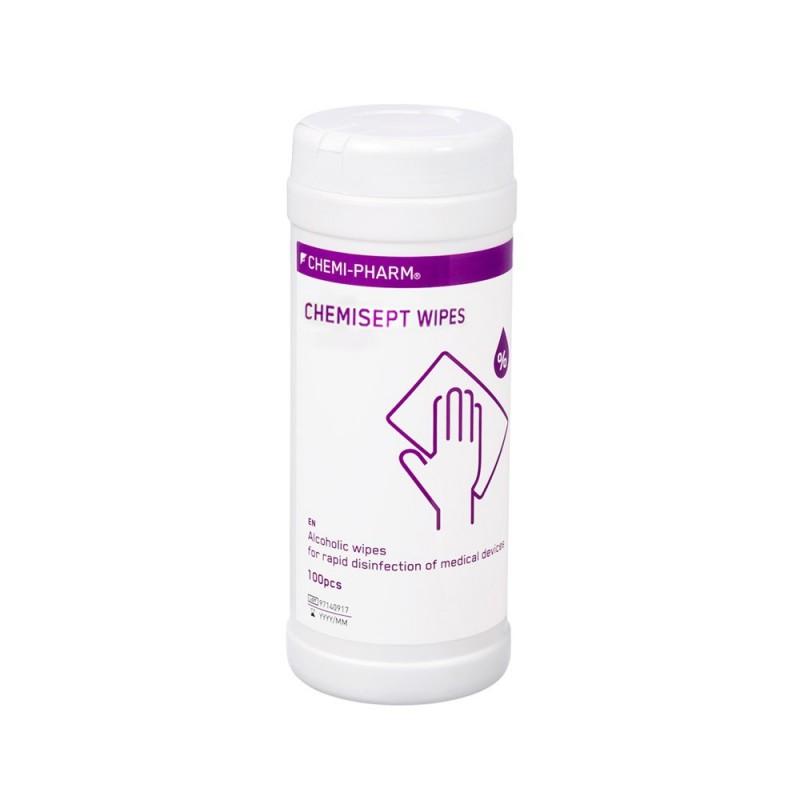 Chemisept disinfectant wipes, 100pcs