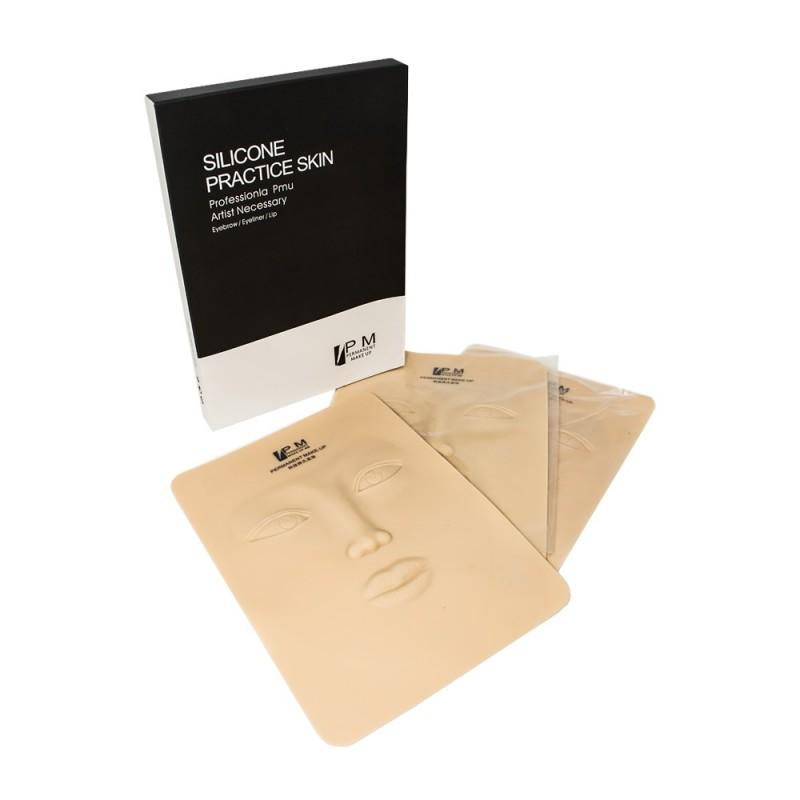 Silicone Practice Skin - 3D (3pcs / box)