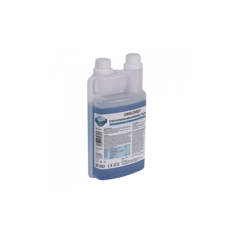 UNIGLOVES INSTRUMENT DISINFECTANT Forte Plus 1L