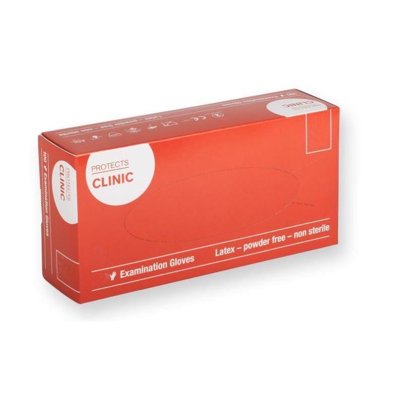 Latex Examination Gloves Powder Free (XS-XL)