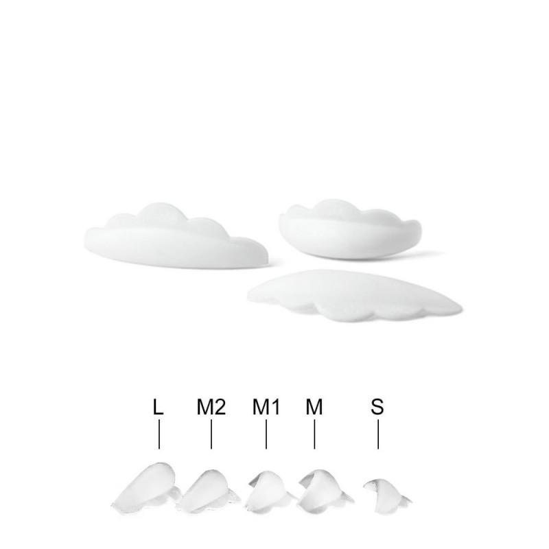 Силиконовые стержни для ресниц 5 пар (размеры S, M, M1, M2, L)
