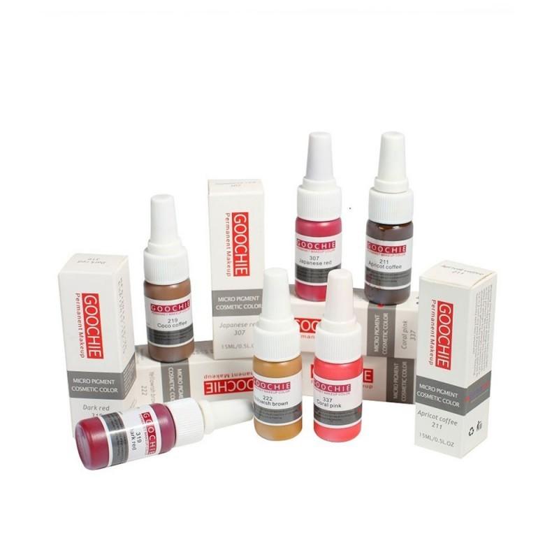 Goochie pigmenti lūpām (Micro Pigment Cosmetic Color) 15ml