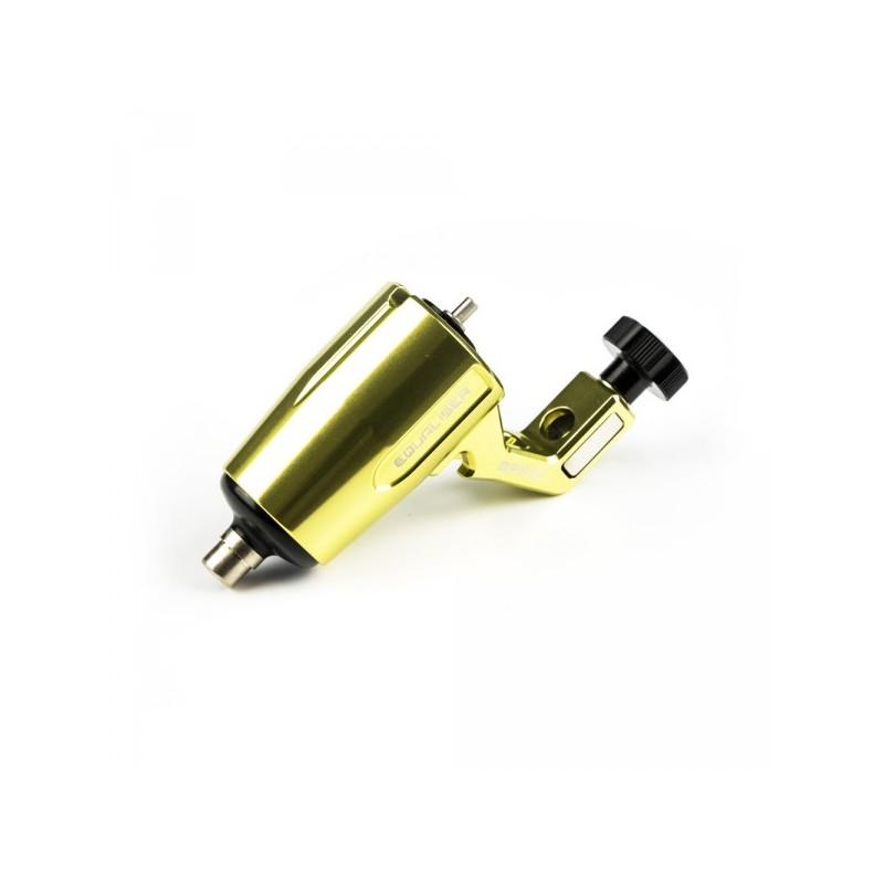 EQUALISER SPIKE Rotējoša Tetovēšanas Mašīna Ar Regulējamu Gājienu (Zelts)