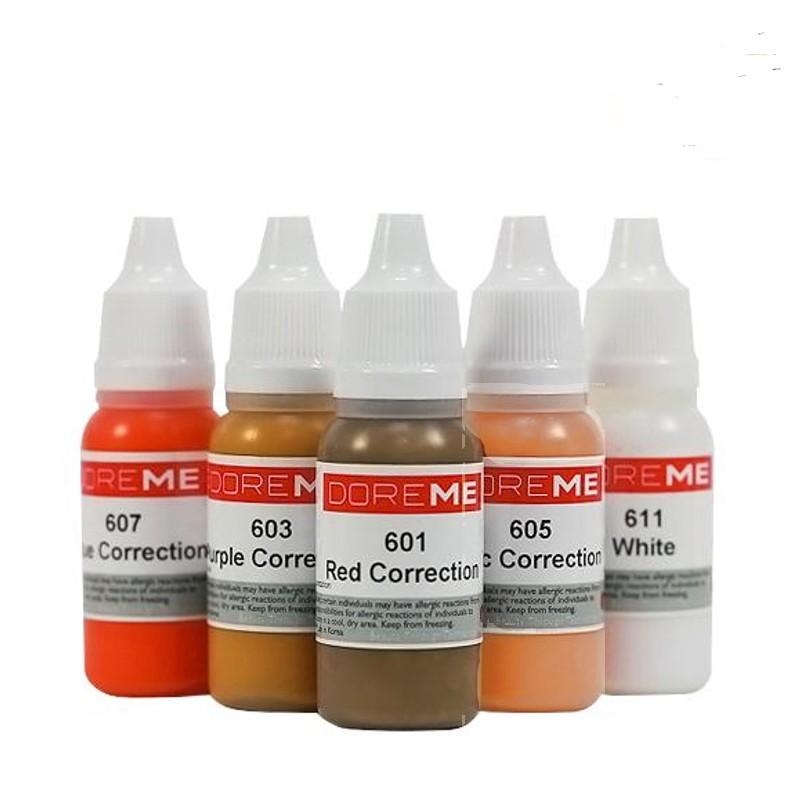 DOREME Corrector Pigments (Liquid Colors)