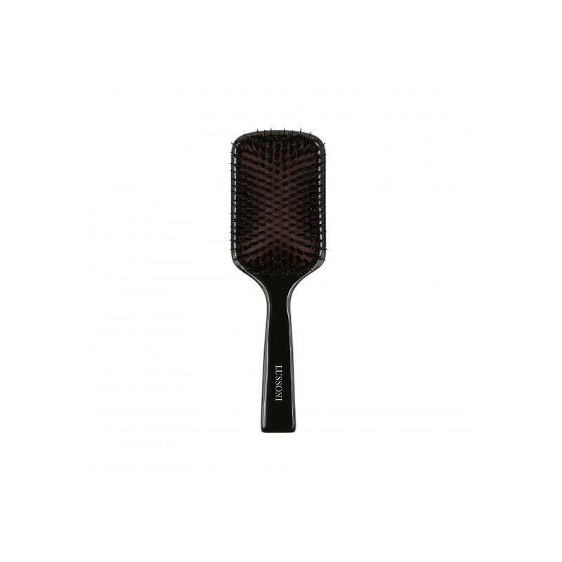 LUSSONI Wooden Paddle Hairbrush