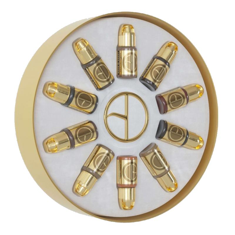 Perma Blend BROW DADDY Gold Collection uzacu komplekts