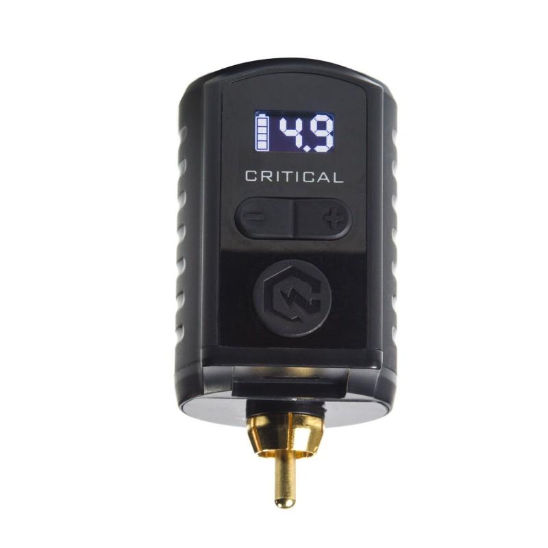 Critical Universāla pārnēsājama baterija (RCA / DC)