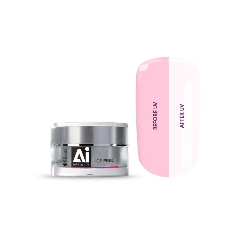 Silcare Affinity UV Ice Pink Nagu želeja (15g/30g)
