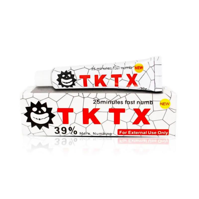 TKTX WHITE 39% Tattoo Cream 10g