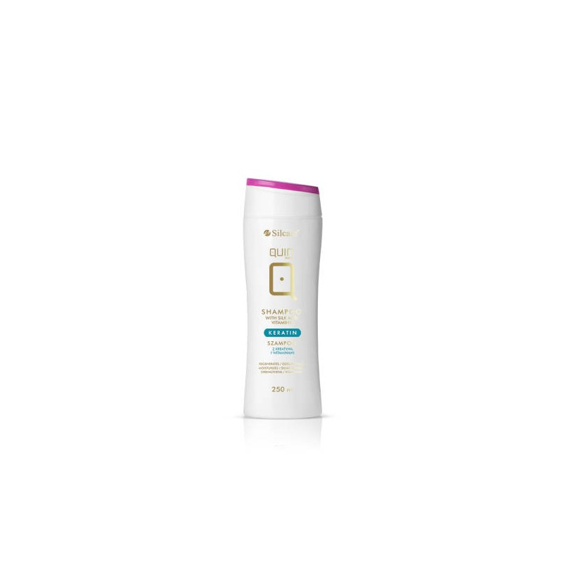 Silcare QUIN Shampoo With Keratin and Vitamins (250ml)