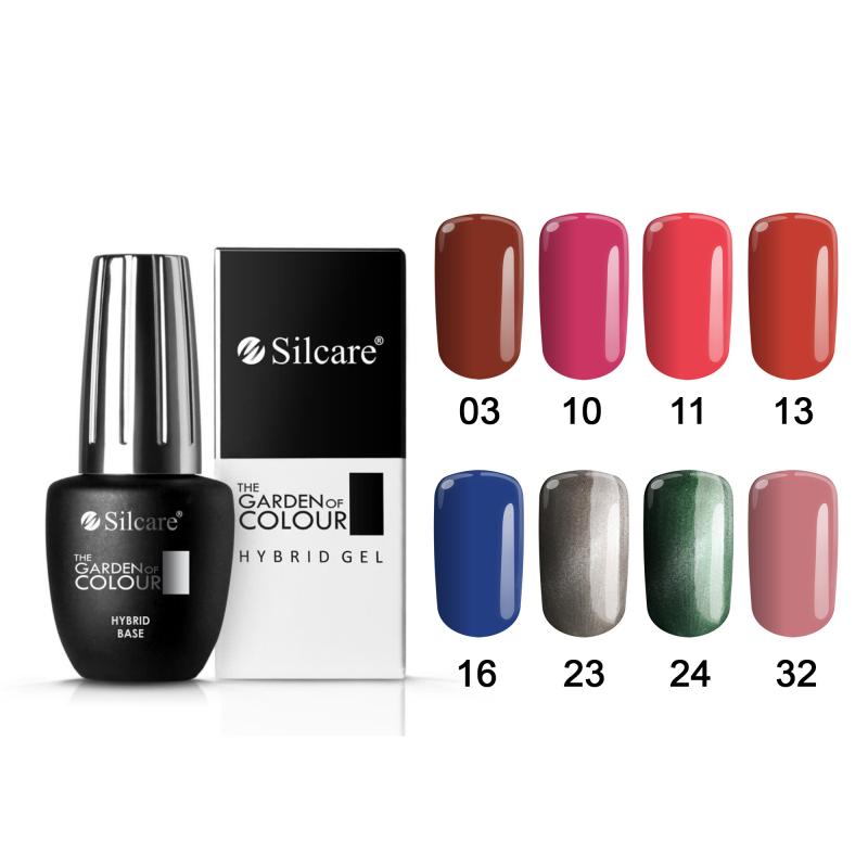 Silcare The Garden Of Colour Hybrid Gel (15g)