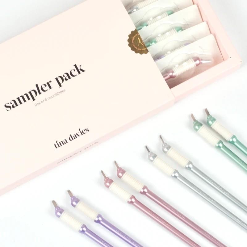Tina Davies Microblading Sampler Pack 8 pcs