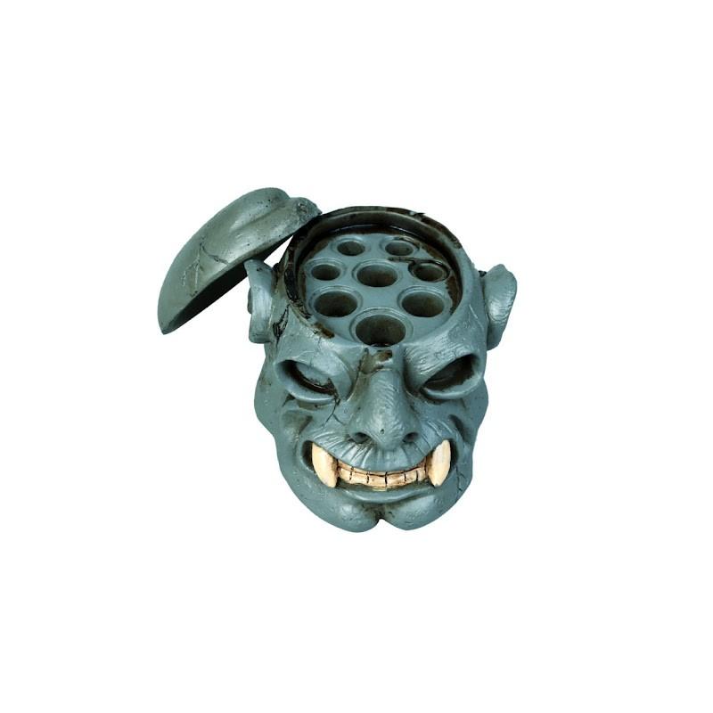 Skull Tattoo Ink Cap Cup Holder