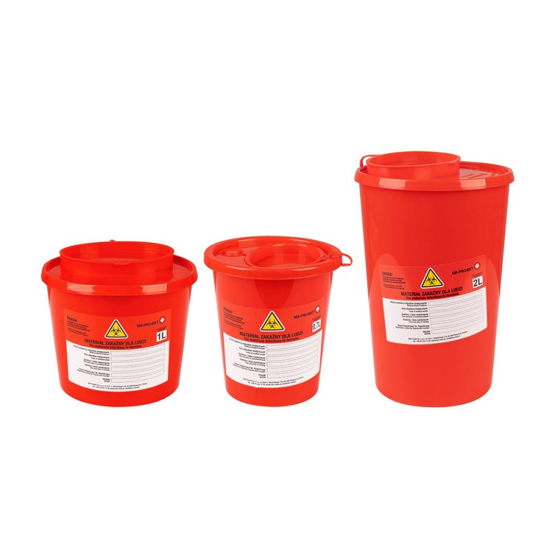 Container For Waste (0.7/1.0/2.0)