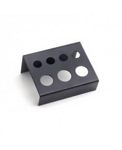 Black Metal caps holder 7 holes