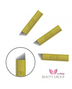 Microblading B&G 14 prong needle (gold)