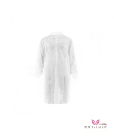Disposable dressing gown with velcro strip 5 pcs. (XXL size)