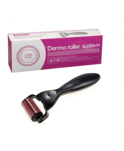 Micro Derma Roller 1200 Needle Black (2.0mm)