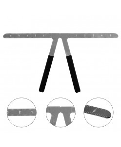 Three-point Positioning Balance Ruler