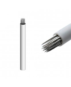 17-prong Shadow needle (White)