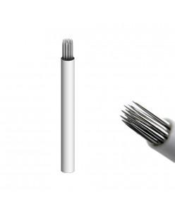 21-prong shadow needle (White)