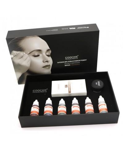 Goochie permanent makeup pigments kit