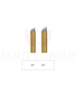 Biomaser Microblading 12 - 14 CF needle (gold - hard) 1 pcs.