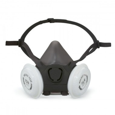 Moldex 7000 Series FFP3 Reusable Half Mask Respirator, M size (with 18 filters kit)