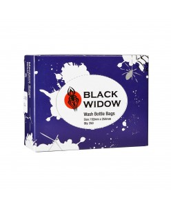 Black Widow Wash Bottle Bags 152x254mm (250 pcs.)