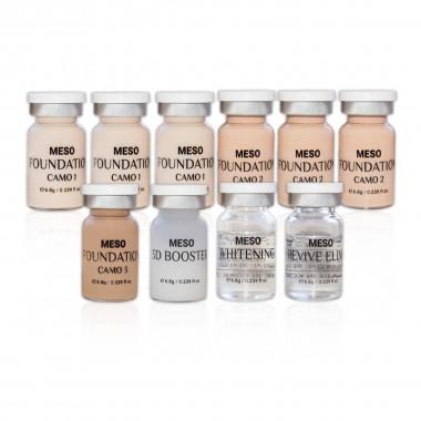 Meso BB Glow vials kit