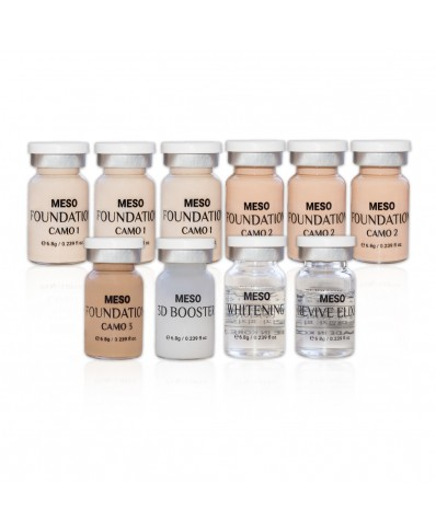 Meso BB Glow vials kit