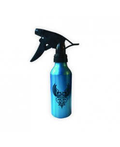 Aluminum bottle with hose sprayer (Blue)