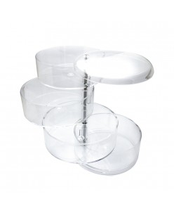 Plastic cosmetic holder
