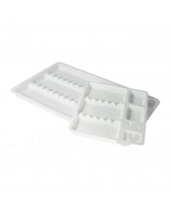 Disposable instrument trays (19,5 x 30 cm / 15 x 19,5 cm) 10 pcs.