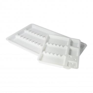 Disposable instrument trays (19,5 x 30 cm / 15 x 19,5 cm) 10 pcs.